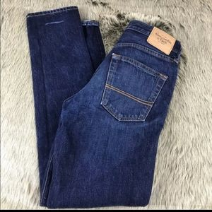 men's classic taper A&F jeans